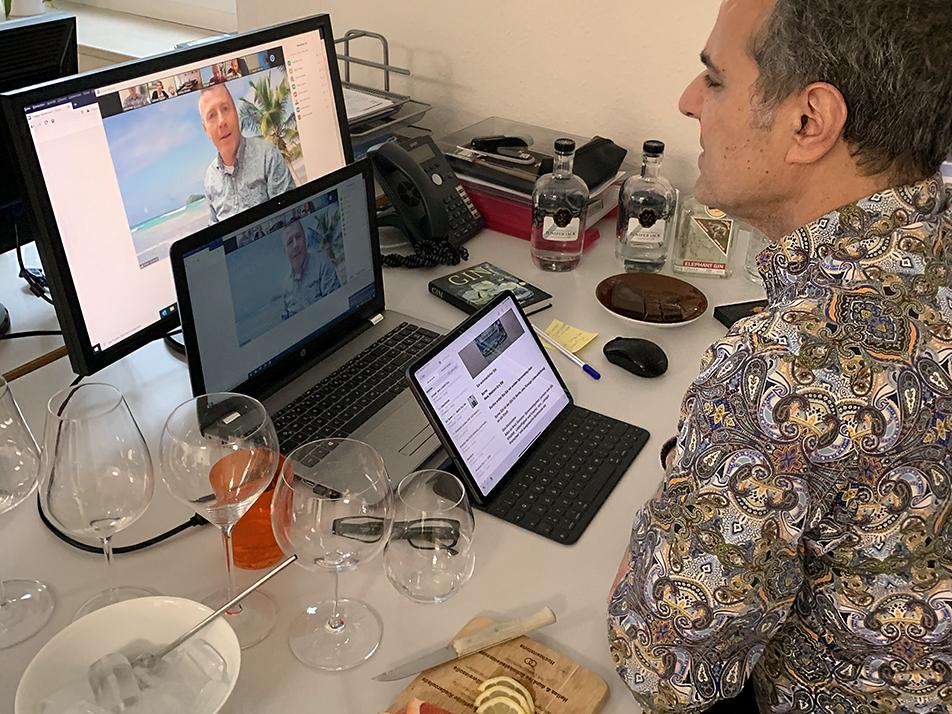 Virtuelle Weinseminare Rakhshan Zhouleh